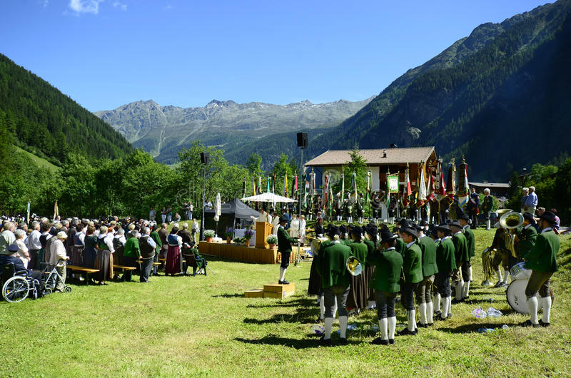 Oostenrijk, Tirol royalty-vrije stock fotografie