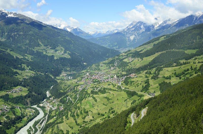 Oostenrijk, Tirol, Herbergenvallei royalty-vrije stock fotografie