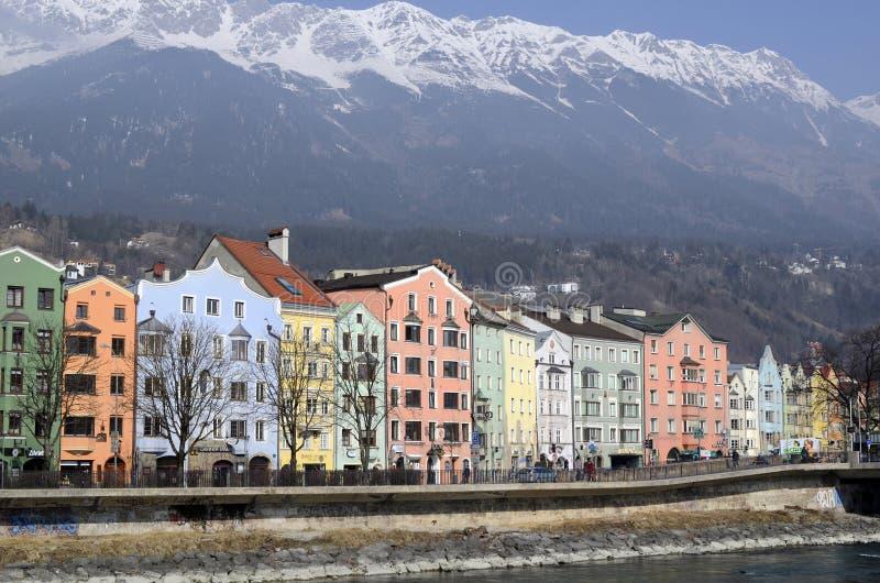Oostenrijk, Tirol, Innsbruck stock afbeeldingen