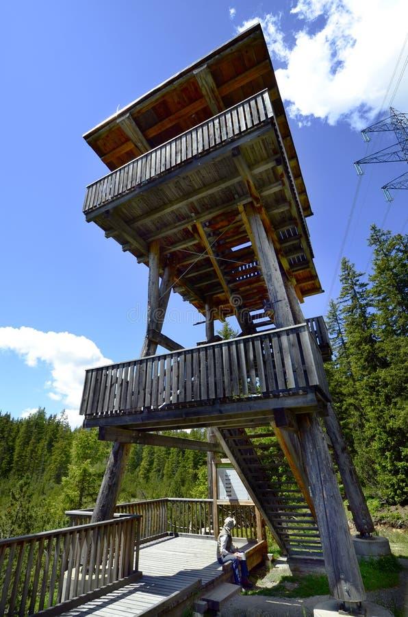 Oostenrijk, Tirol, Piller legt vast stock foto's