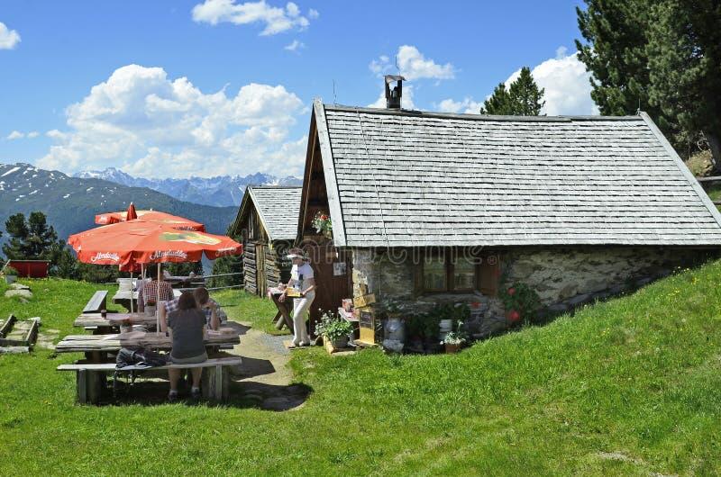 Oostenrijk, Tirol, Pitztal stock fotografie