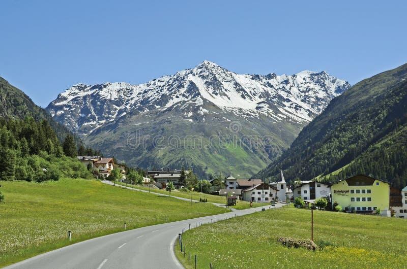Oostenrijk, Tirol, Pitztal royalty-vrije stock fotografie