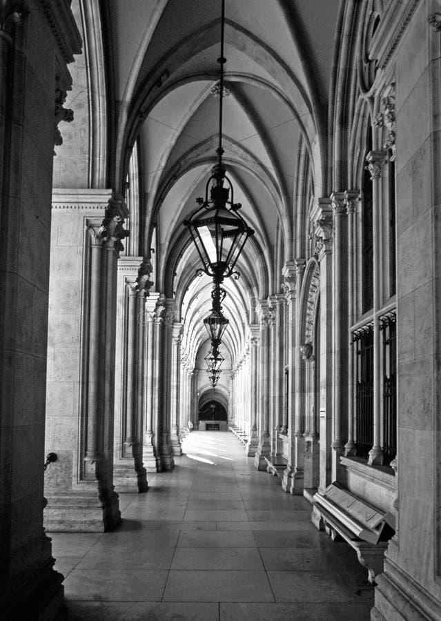 Oostenrijk/townhall Stock Fotografie