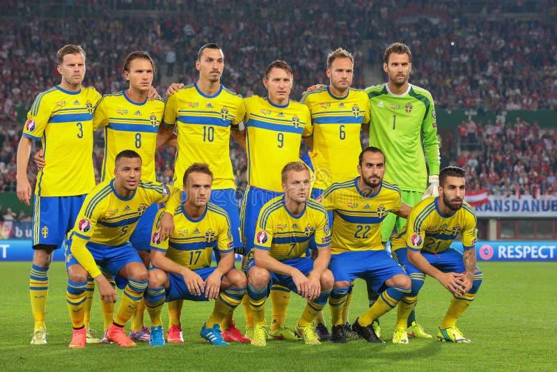 Oostenrijk versus België zweden stock foto's