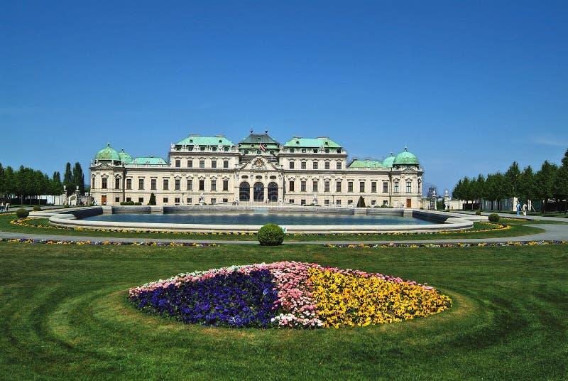 Oostenrijk, Wenen, Belvedere Paleis royalty-vrije stock afbeeldingen