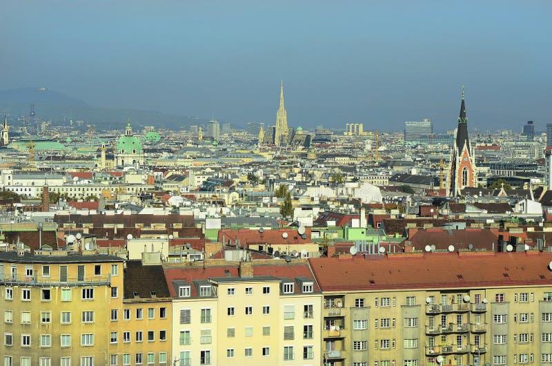 Oostenrijk, Wenen, cityscape royalty-vrije stock fotografie