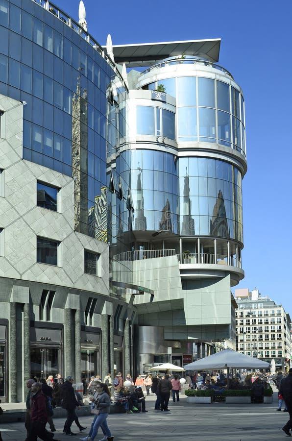Oostenrijk, Wenen, Haas-de bouw royalty-vrije stock afbeeldingen