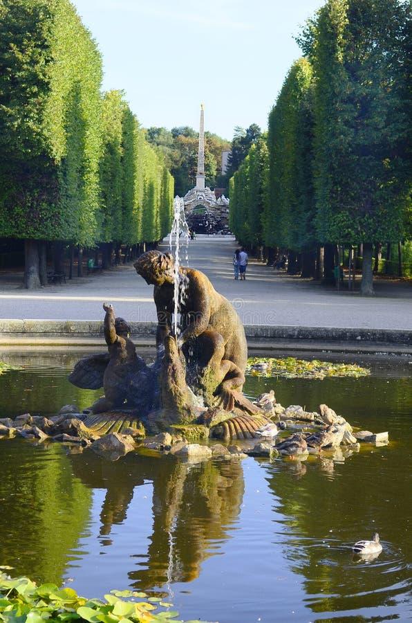Oostenrijk, Wenen, Schoenbrunn royalty-vrije stock foto's