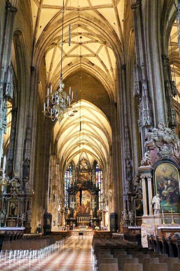 oostenrijk Wien St Stephen ` s Kathedraal stock foto