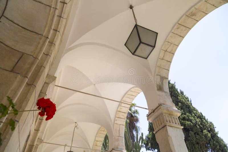 Oostenrijks Armenhuis in Jeruzalem royalty-vrije stock afbeelding