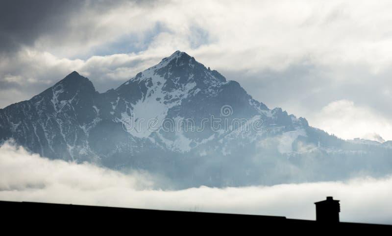 Oostenrijkse Alpen royalty-vrije stock foto's