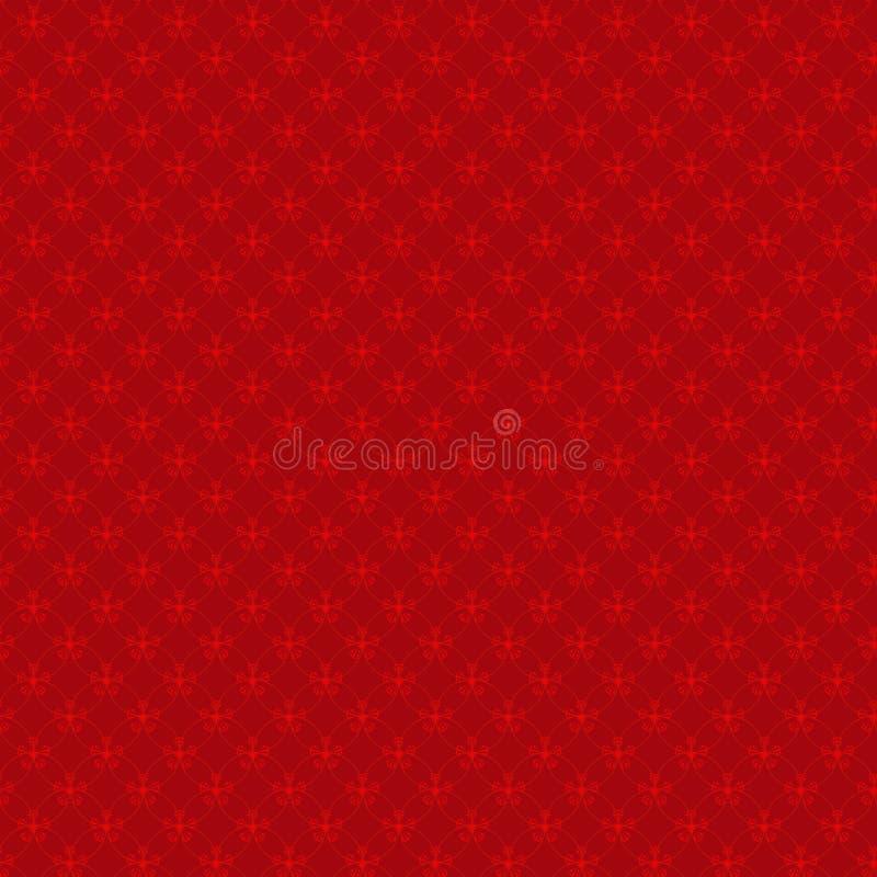 Oosters Chinees naadloos patroon en overladen frame royalty-vrije illustratie