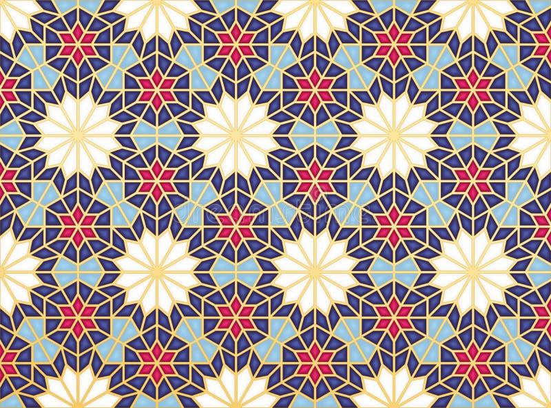 Oosters patroon royalty-vrije illustratie