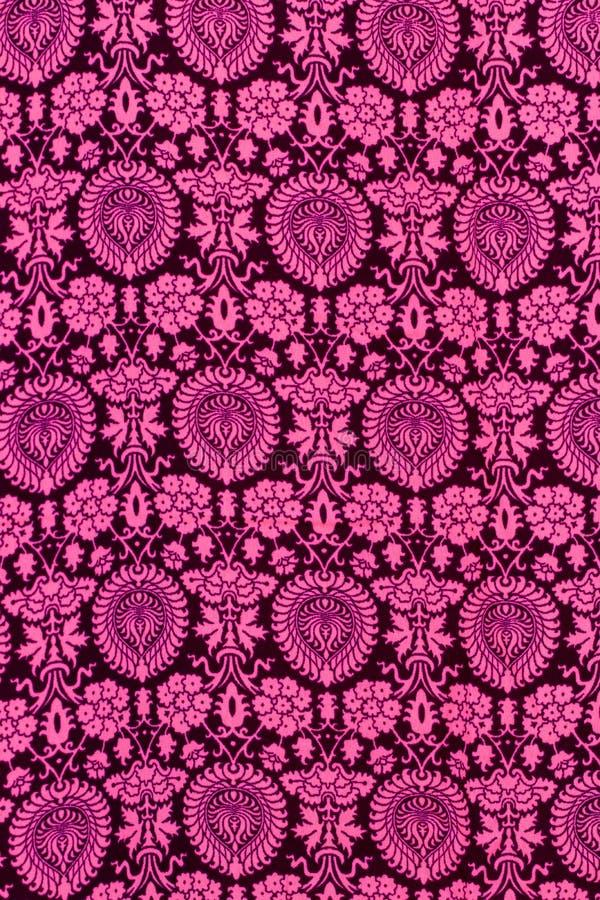 Oosters patroon Close-up van naadloze bloemen traditionele de decoratieachtergrond van het tapijtpatroon voor kaarten, Webontwerp stock afbeelding