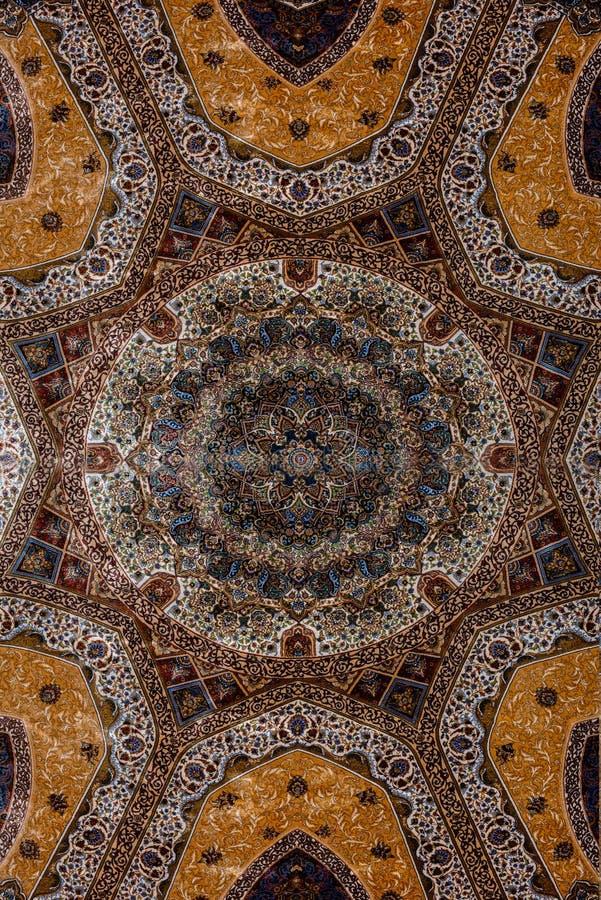 Oosters tapijt Turks-Azerbeidzjan stock fotografie