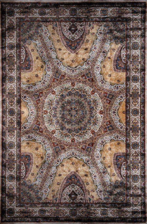 Oosters tapijt Turks-Azerbeidzjan royalty-vrije stock afbeeldingen