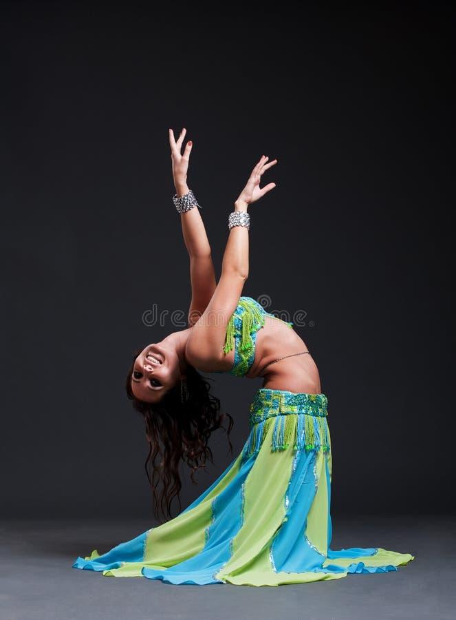 Oosterse danser stock afbeelding