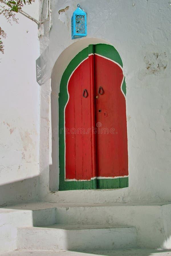 Oosterse deur stock afbeeldingen