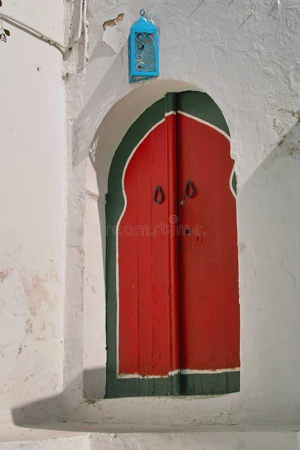 Oosterse deur royalty-vrije stock foto's