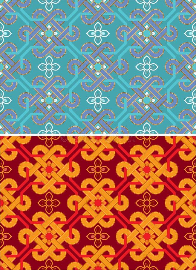 Oosterse naadloze tegel vector illustratie afbeelding bestaande uit naadloos 22972471 - Oosterse tegels ...