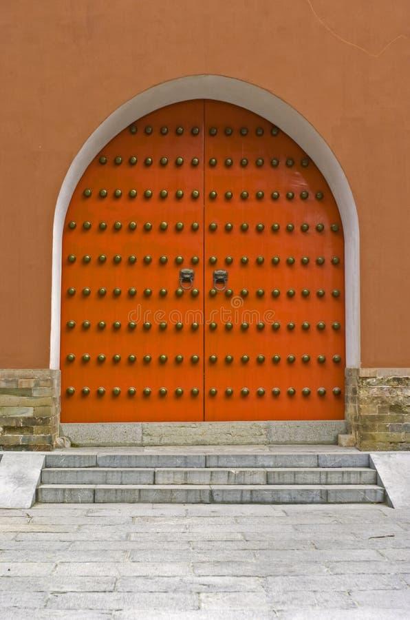 Oosterse poort royalty-vrije stock fotografie