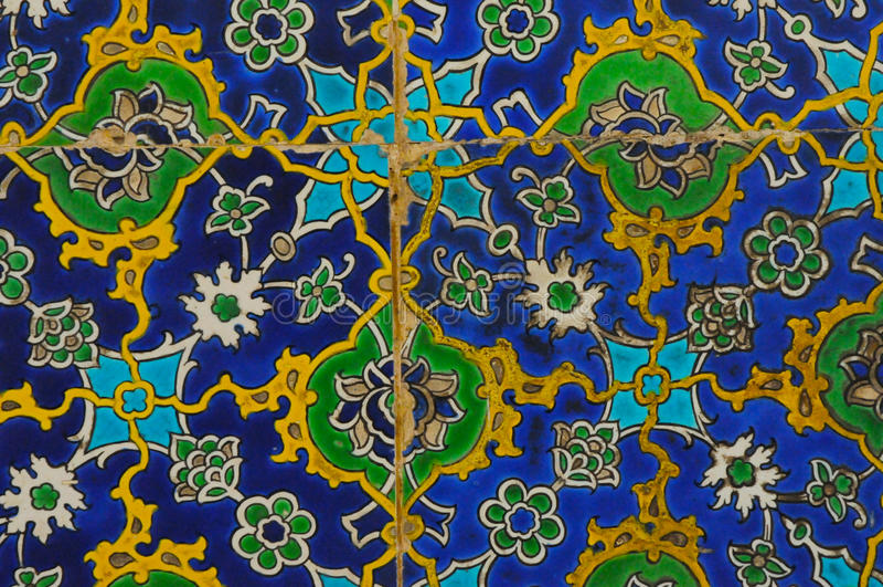 Oosterse Tegels stock afbeeldingen