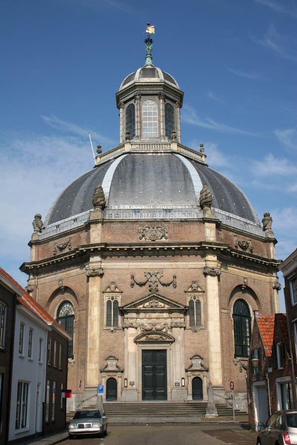 Oostkerk, Middelburg foto de archivo
