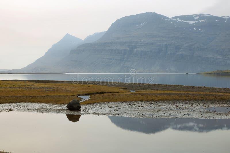 Oostkust van IJsland royalty-vrije stock fotografie