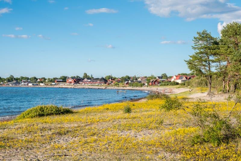 Oostzeeeiland Oland in Zweden stock afbeeldingen