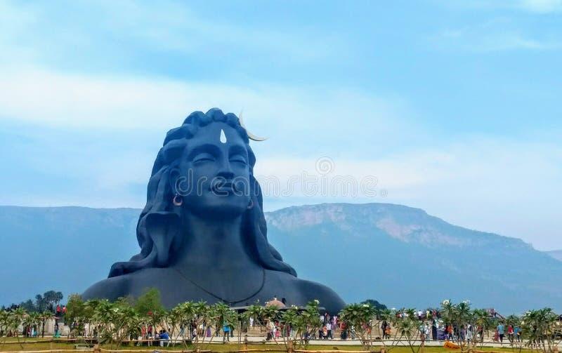 Adiyogi Shiva Statue Of Coimbatore Tamil Nadu India Stock