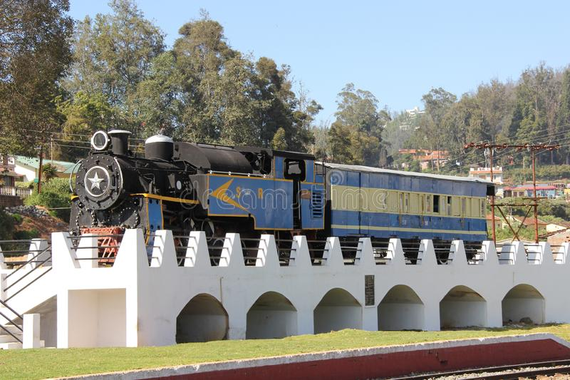 Ooty Toy Train stock foto