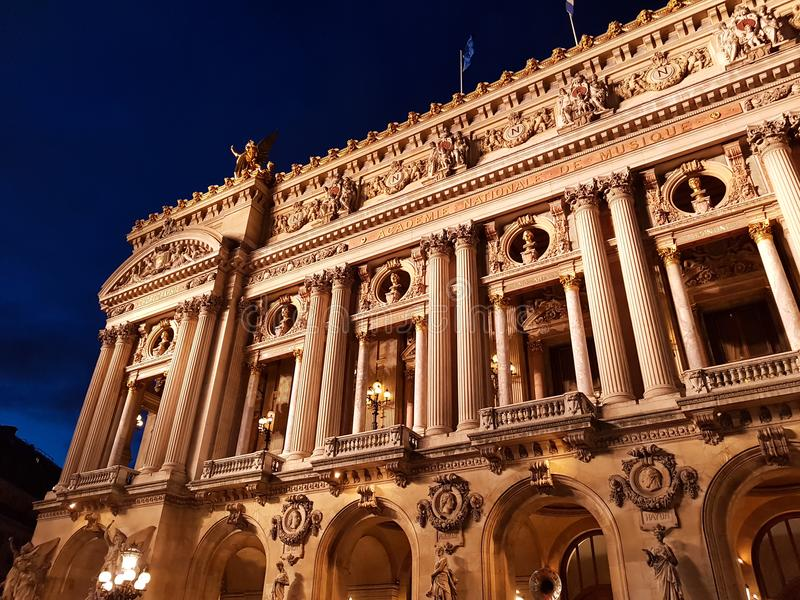 Opéra, Paris, Frankreich lizenzfreie stockfotos
