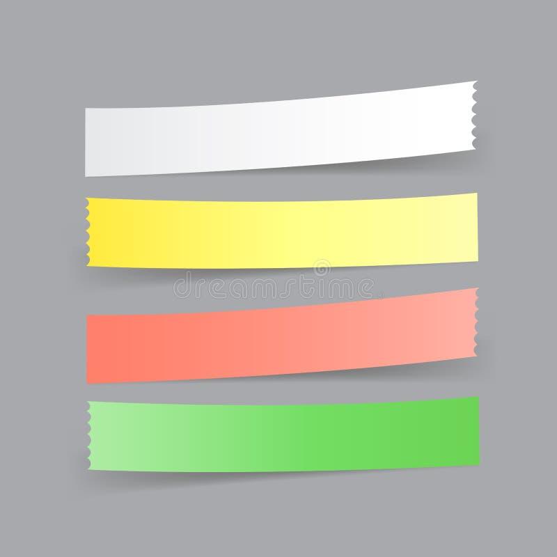 Opção de papel do menu ilustração do vetor