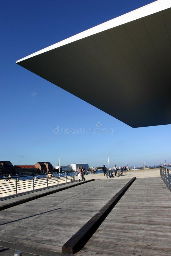 Opéra de Copenhague images stock