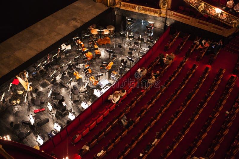 Opéra de Monnaie de La, Belgique image stock