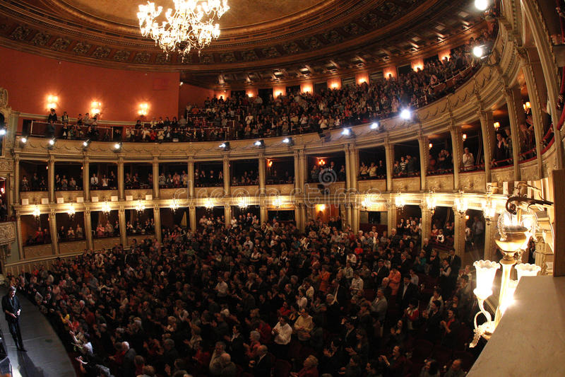 opéra de national de hall photo stock