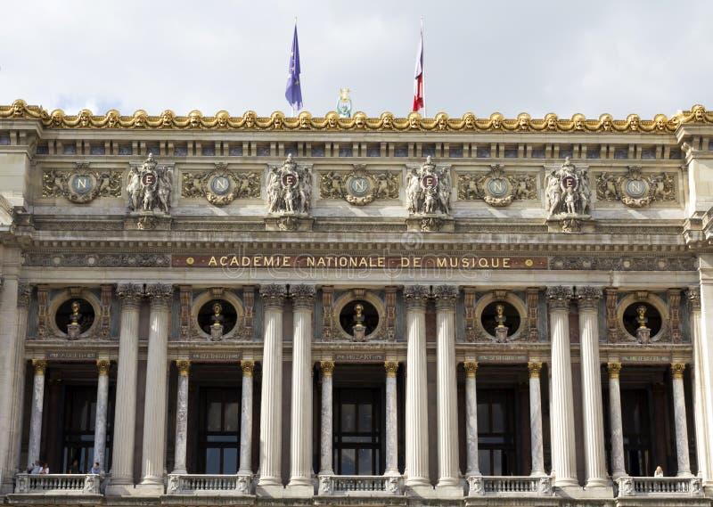Opéra De national Paris photo libre de droits