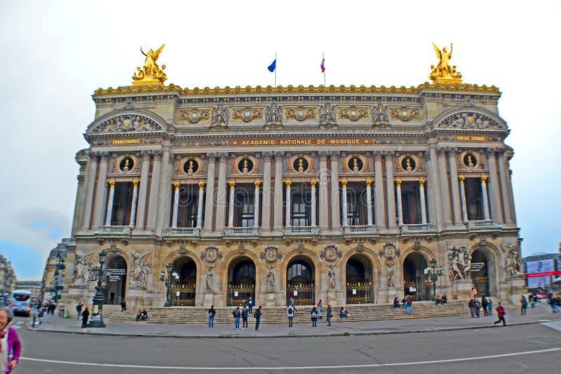 Opéra De national Paris d'opéra de Paris aka aka le Palais Garnier à Paris, France, image libre de droits