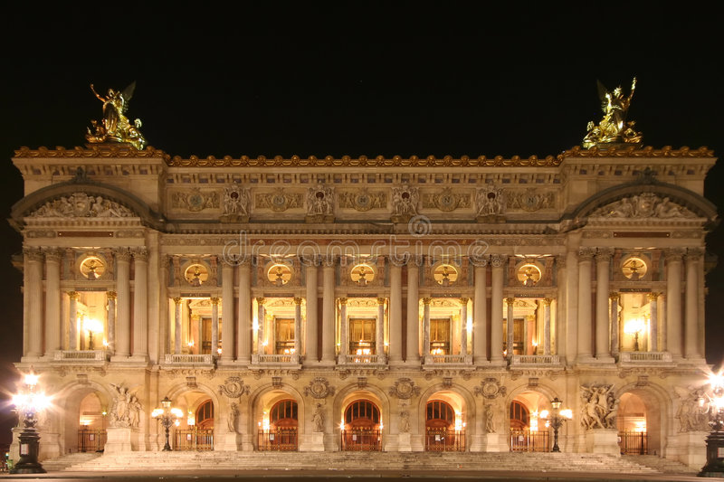 Opéra de Paris photo libre de droits
