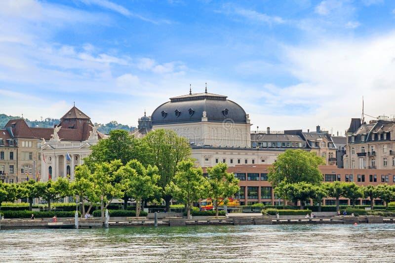 Opéra de Zurich, Suisse photo stock