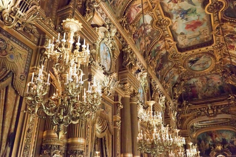 Opéra Garnier de Paris images libres de droits