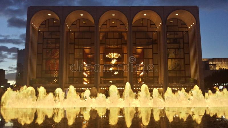 Opéra rencontré photographie stock