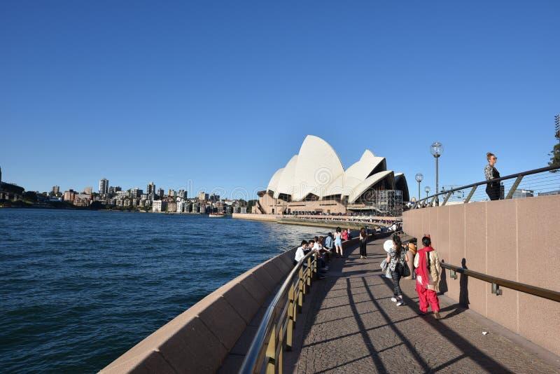 opéra Sydney de maison de l'australie photo stock