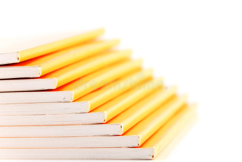 Opérations d'escalier de pile de livre images stock