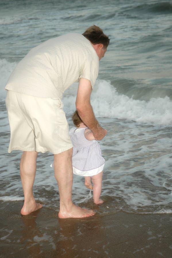 Opérations de chéri dans la mer photo stock