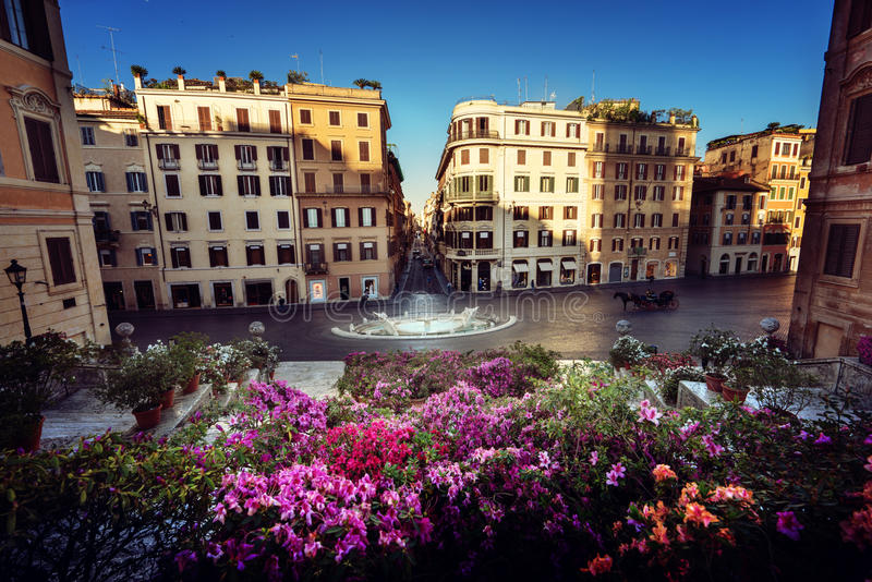Opérations espagnoles, Rome, Italie image stock