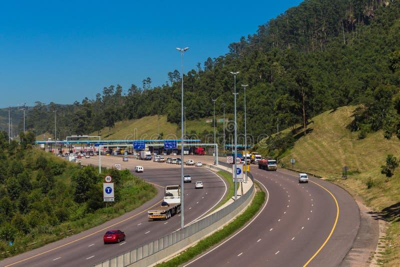 Opłat drogowa bram autostrada obrazy royalty free