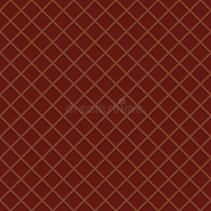 Opłatkowy bezszwowy deseniowy tło Lody rożka powierzchnia ilustracja wektor