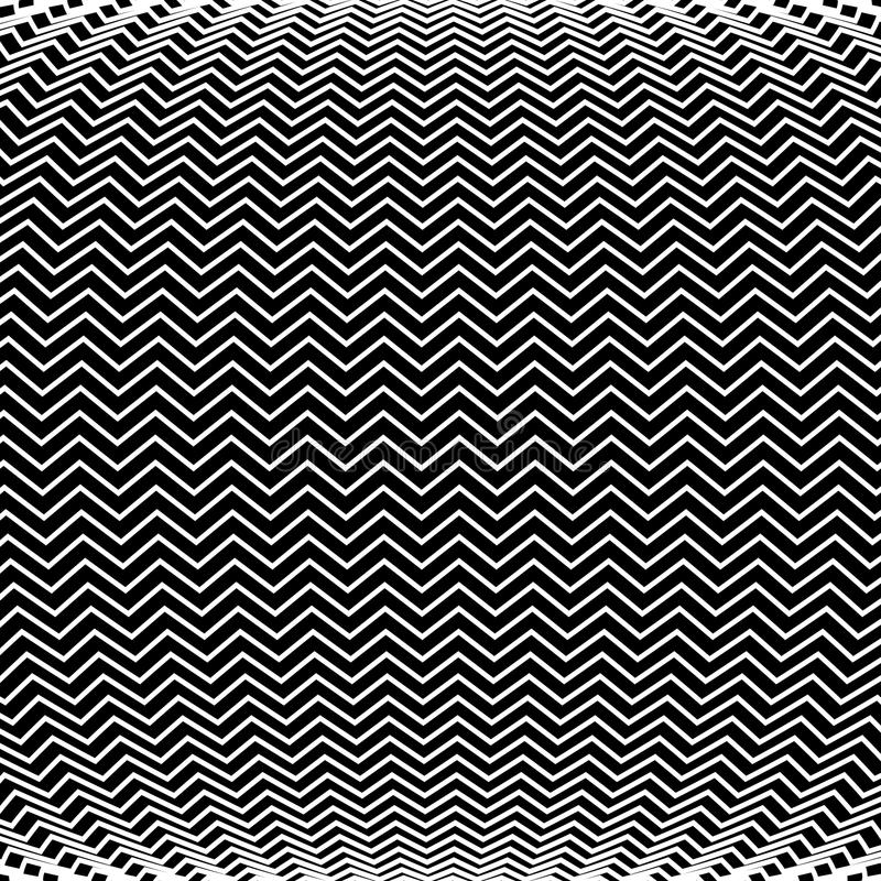 Op Art Bulge Pattern. An op art pattern is featured in an abstract background illustration vector illustration
