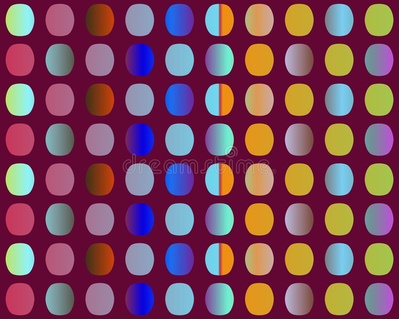 Download Op Art Go To The Party Through The Holes Stock Illustration - Image: 5289112